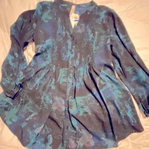 Melissa McCarthy Seven 7 NWT Woman's tunic.